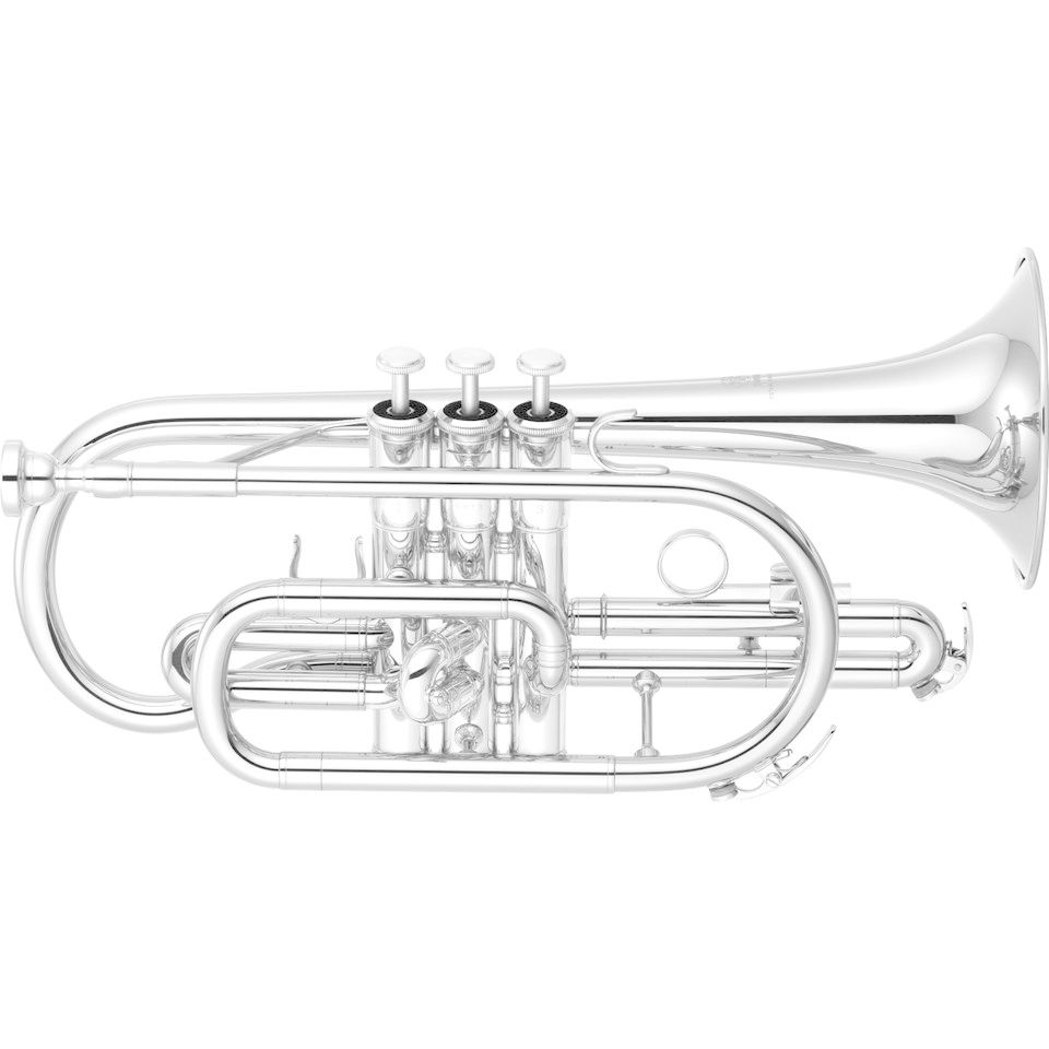 Yamaha YCR-2330S III Bb-Cornet Short Form, Silverplate Product Image