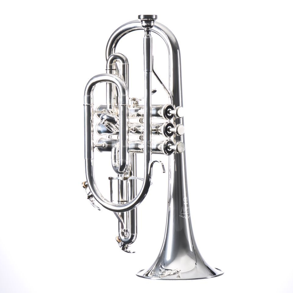 Yamaha YCR-8335GS 02 Bb-Cornet Xeno series, Silverplate Изображение товара