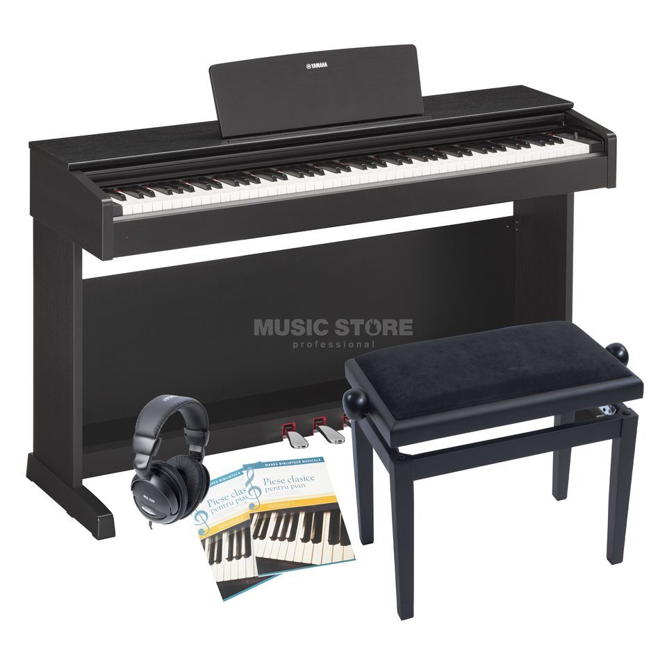 yamaha ydp 143 b complete set music store professional. Black Bedroom Furniture Sets. Home Design Ideas