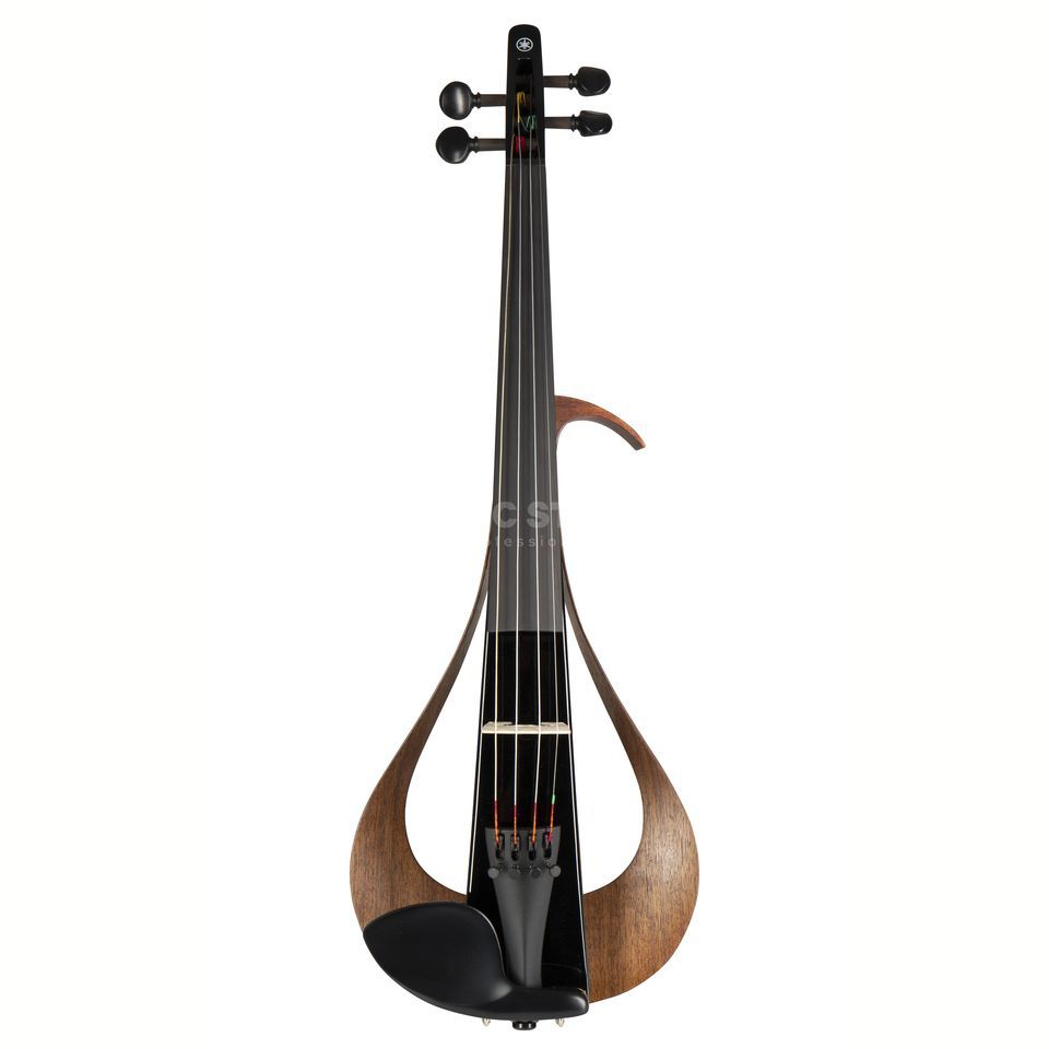 Yamaha YEV-104 TBL Electric Violin Trans Black Product Image