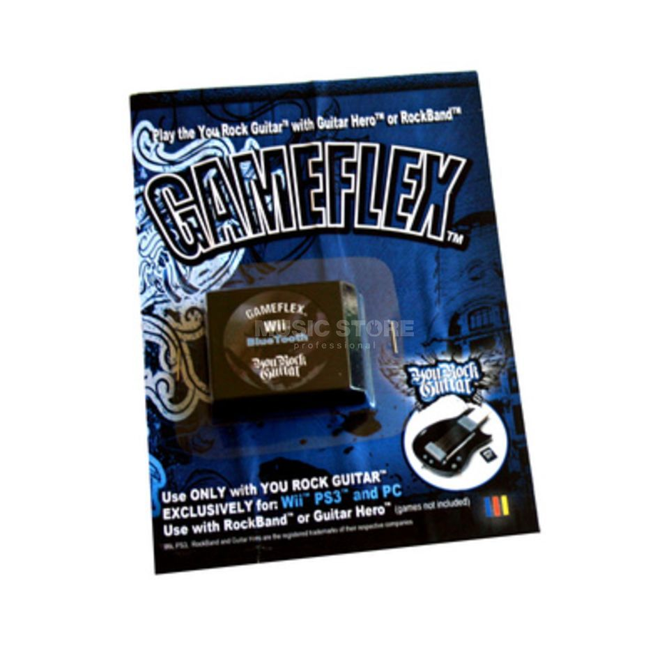 You Rock Guitar Gameflex Cartridge for PS3 /PC You Rock Guitar/ YRG102 Produktbild