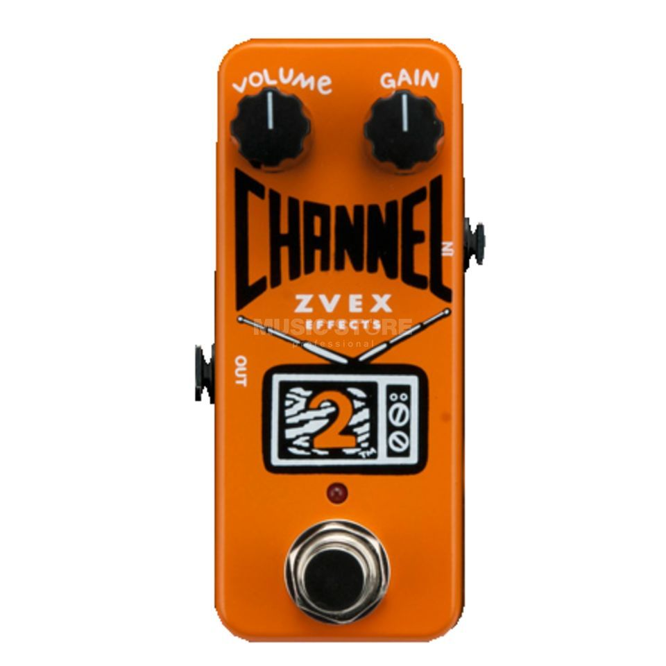 Z.VEX Channel 2 Low Gain Overdrive/Booster Produktbillede