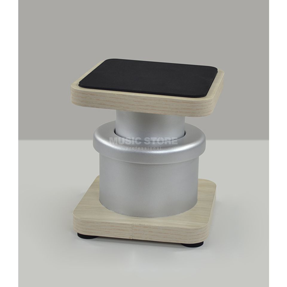 Zaor Miza D-Stands Grey/Oak, Pair Produktbild