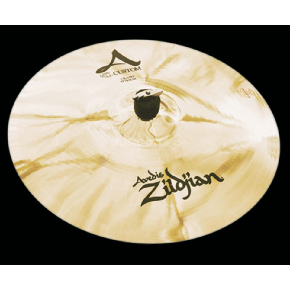 "Zildjian A-Custom Crash 17"" Finition brillante Image du produit"