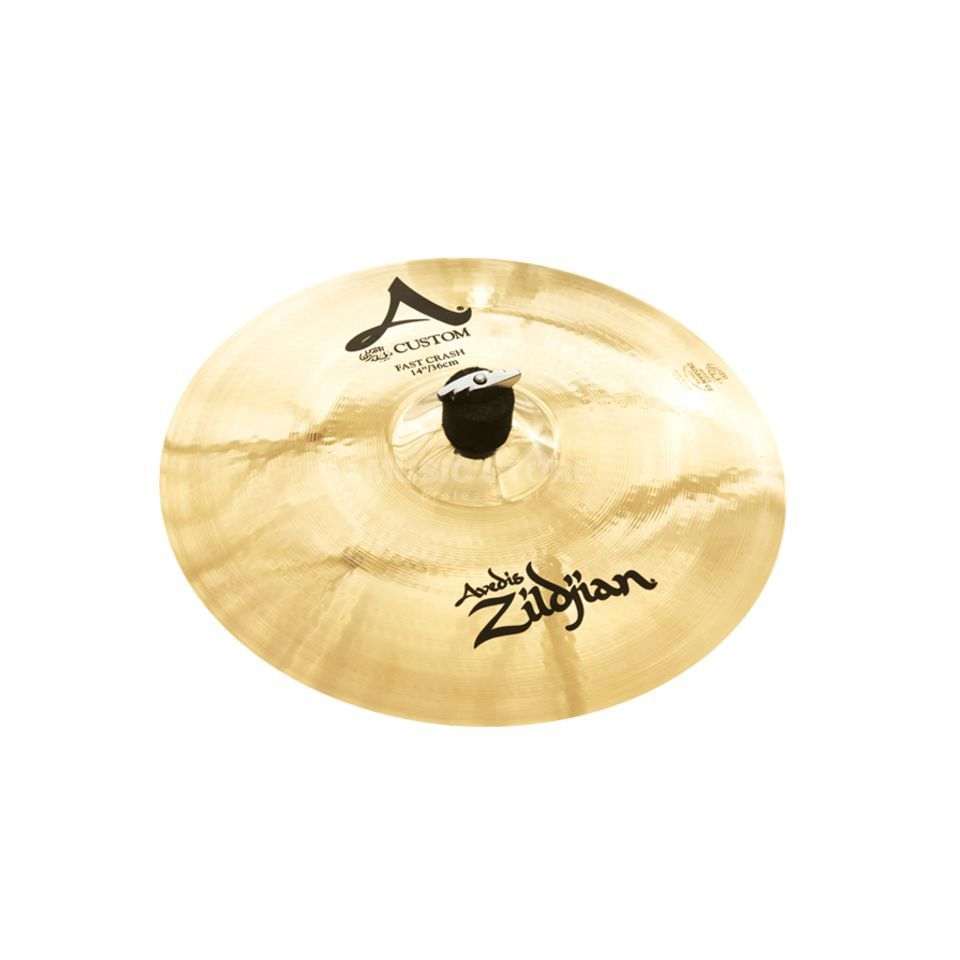 "Zildjian A-Custom Fast Crash 14"" finition brillante Image du produit"