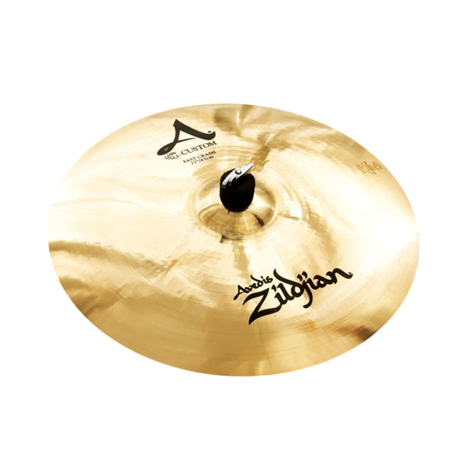 "Zildjian A-Custom Fast Crash 17"" Brilliant Finish Produktbillede"
