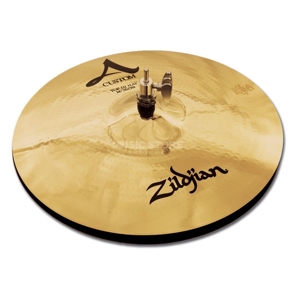 "Zildjian A-Custom HiHat 14"" Brilliant Finish Produktbillede"