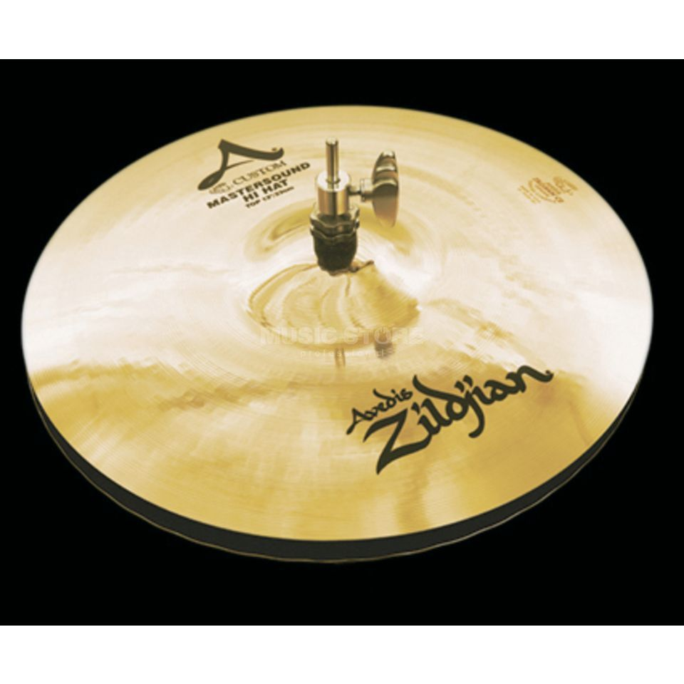 "Zildjian A-Custom Mastersound HiHat 13"" Brilliant Finish Produktbild"