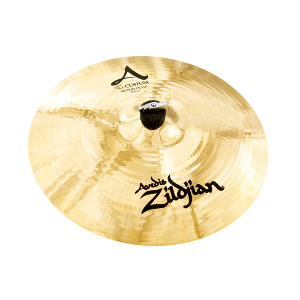 "Zildjian A-Custom Medium Crash 16"" Brilliant Finish Produktbillede"