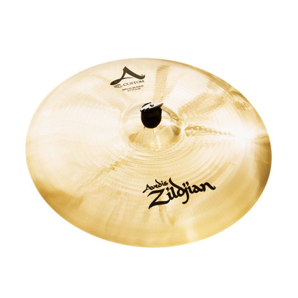 "Zildjian A-Custom Medium Ride 20"" Brilliant Finish Produktbillede"