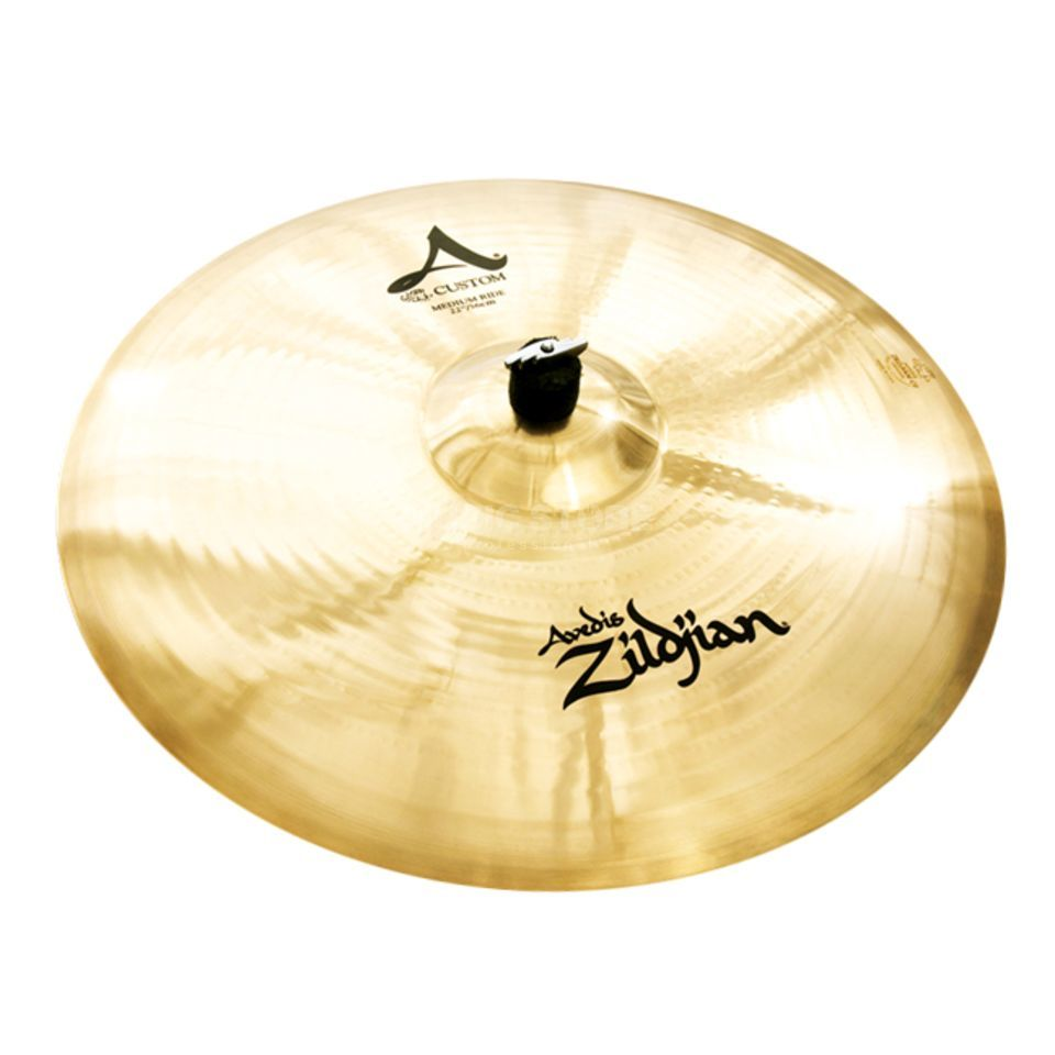 "Zildjian A-Custom Medium Ride 22"" Brilliant Finish Produktbild"