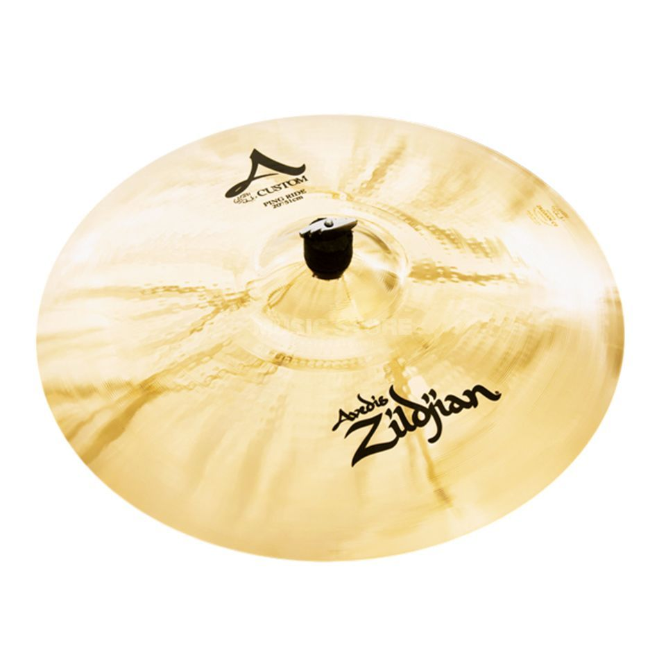 "Zildjian A-Custom Ping Ride 20"" Brilliant Finish Imagem do produto"