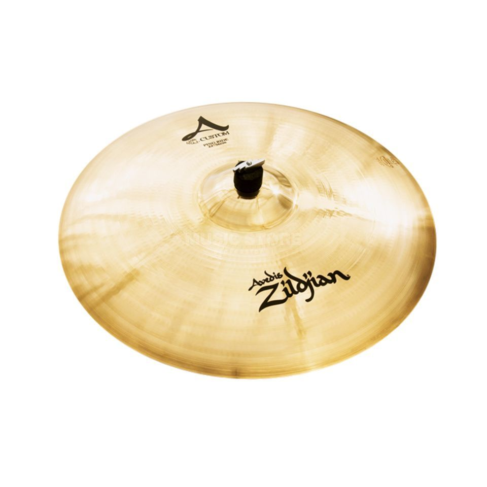"Zildjian A-Custom Ping Ride 22"", Brilliant Finish Produktbillede"