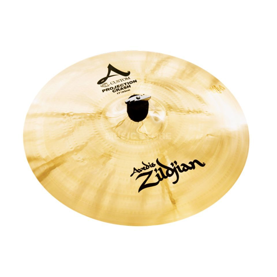 "Zildjian A-Custom Projection Crash 17"" Brilliant Finish Product Image"