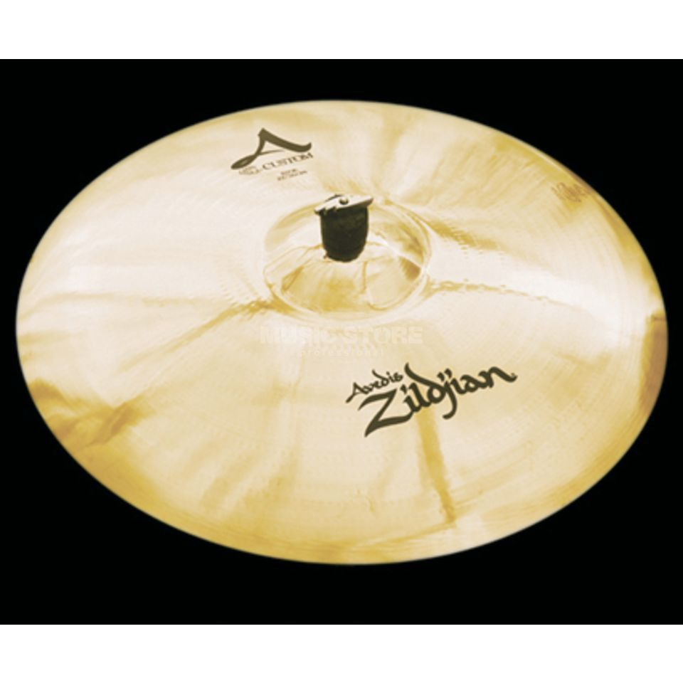 "Zildjian A-Custom Ride 22"" Brilliant Finish Imagem do produto"
