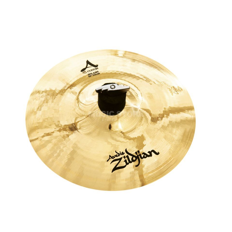 "Zildjian A-Custom Splash 10"" Brilliant Finish Product Image"