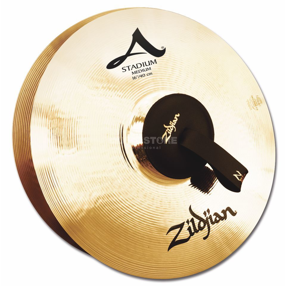 "Zildjian A' Stadium Marching Cymbals, 16"", Medium, Pair Produktbild"