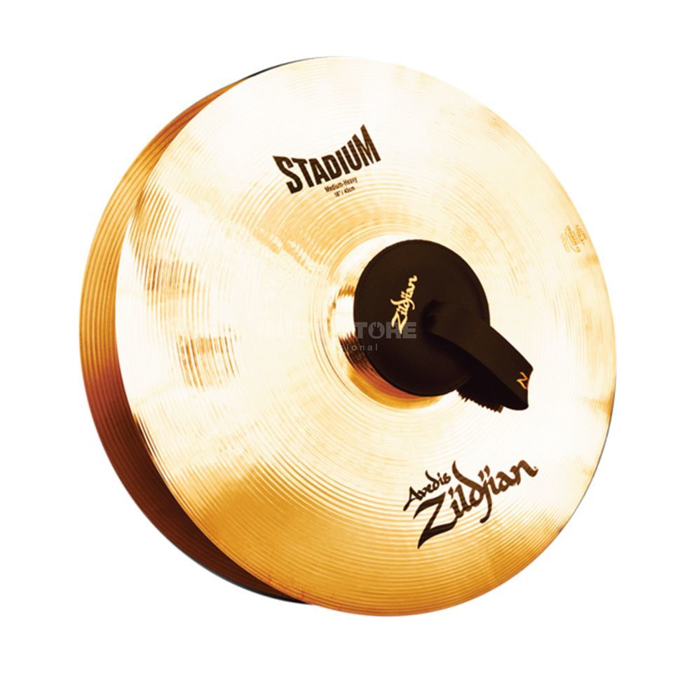 "Zildjian A' Stadium Marching Cymbals, 18"", Medium Heavy Produktbillede"