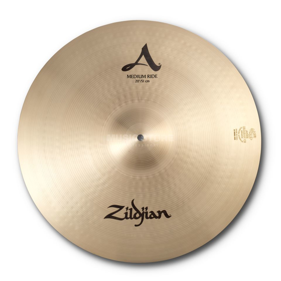 "Zildjian A' Zildjian Medium Ride 20"",Traditional Finish Product Image"