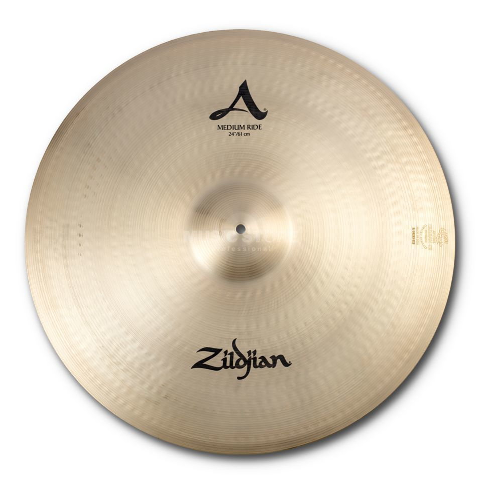 "Zildjian A' Zildjian Medium Ride 24"" Traditional Finish Produktbillede"