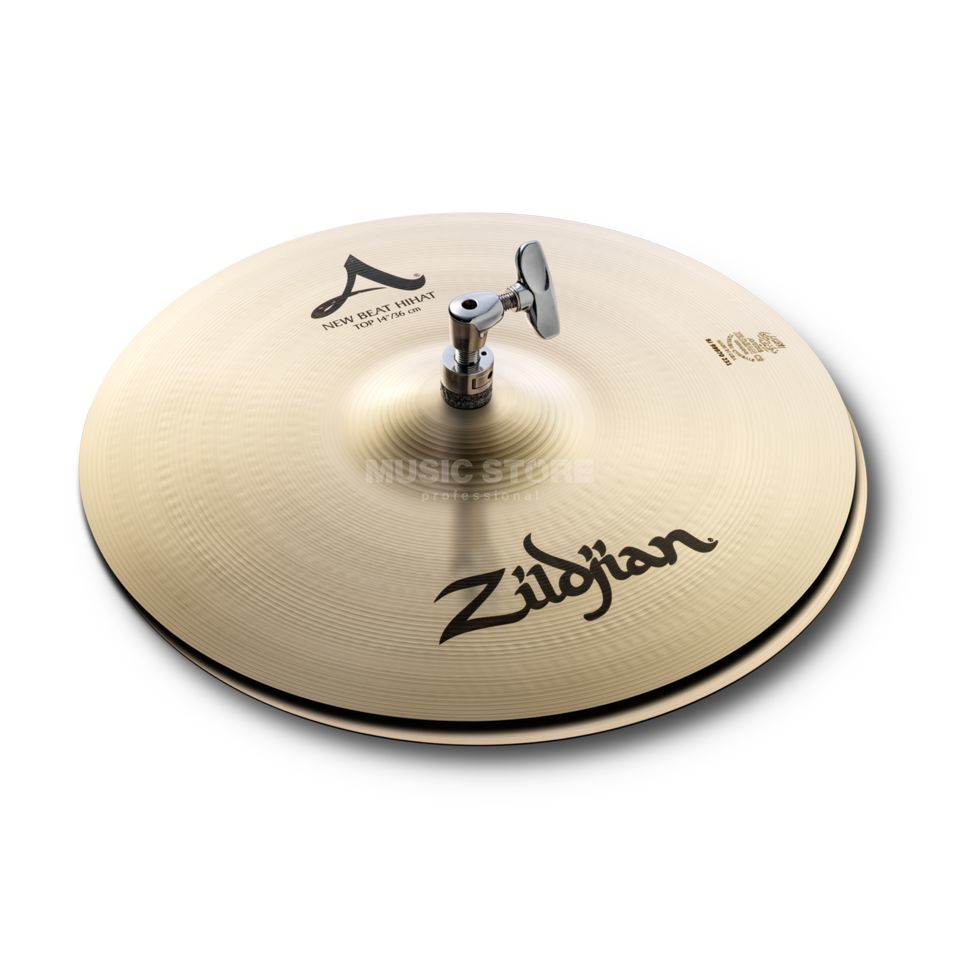 "Zildjian A' Zildjian NewBeat HiHat 14"",Traditional Finish Product Image"