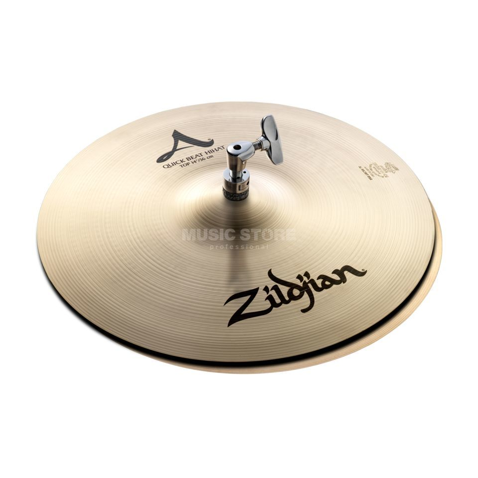 Zildjian A' Zildjian QuickBeat HiHat 14, Traditional Finish Product Image