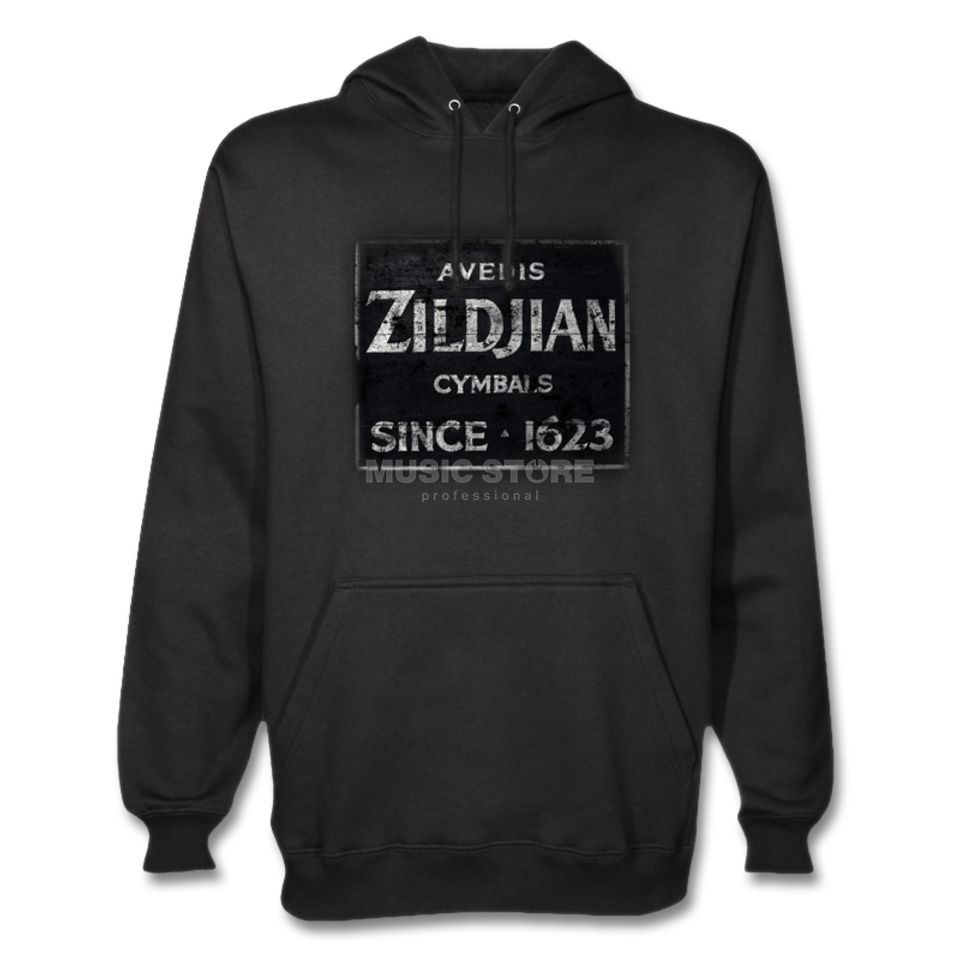Zildjian Hoody Quincy Vintage Medium Black Product Image