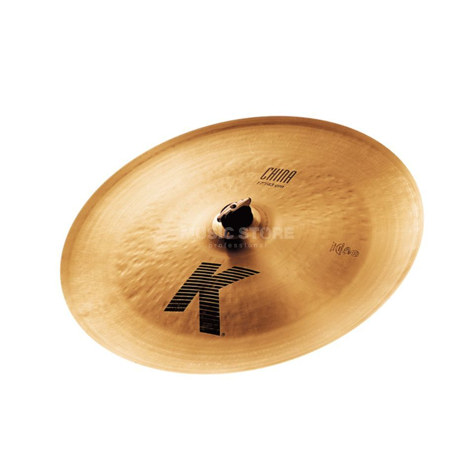 "Zildjian K' China 17"", Traditional Finish Product Image"