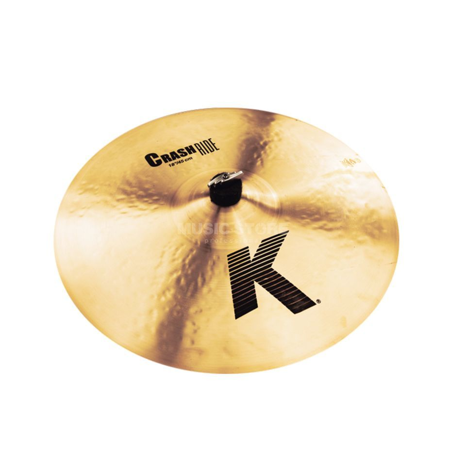 "Zildjian K' Crash Ride 18"", Traditional Finish Product Image"