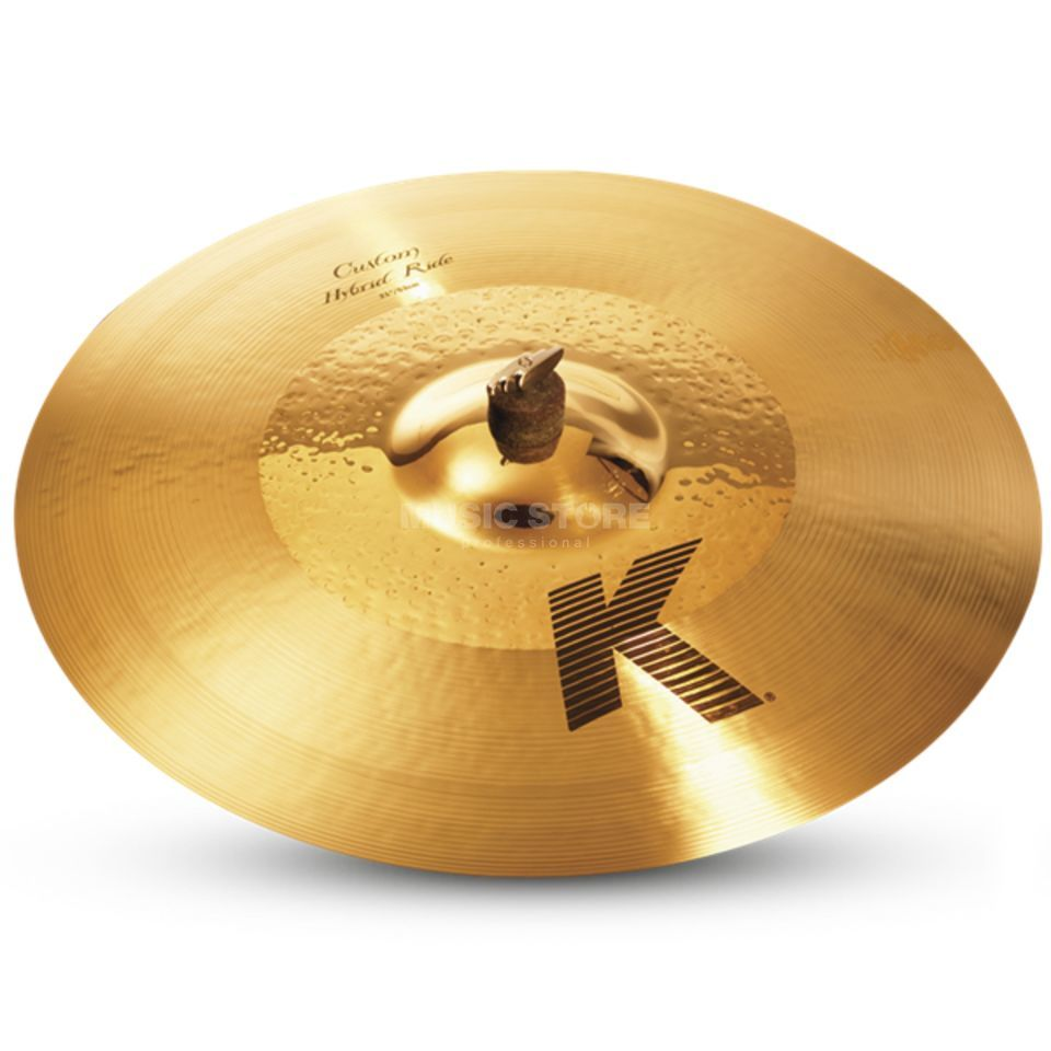 "Zildjian K-Custom Hybrid Ride 21""  Product Image"