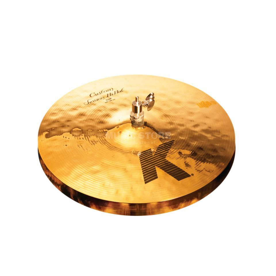 "Zildjian K-Custom Session HiHat 14"" Brilliant Produktbild"