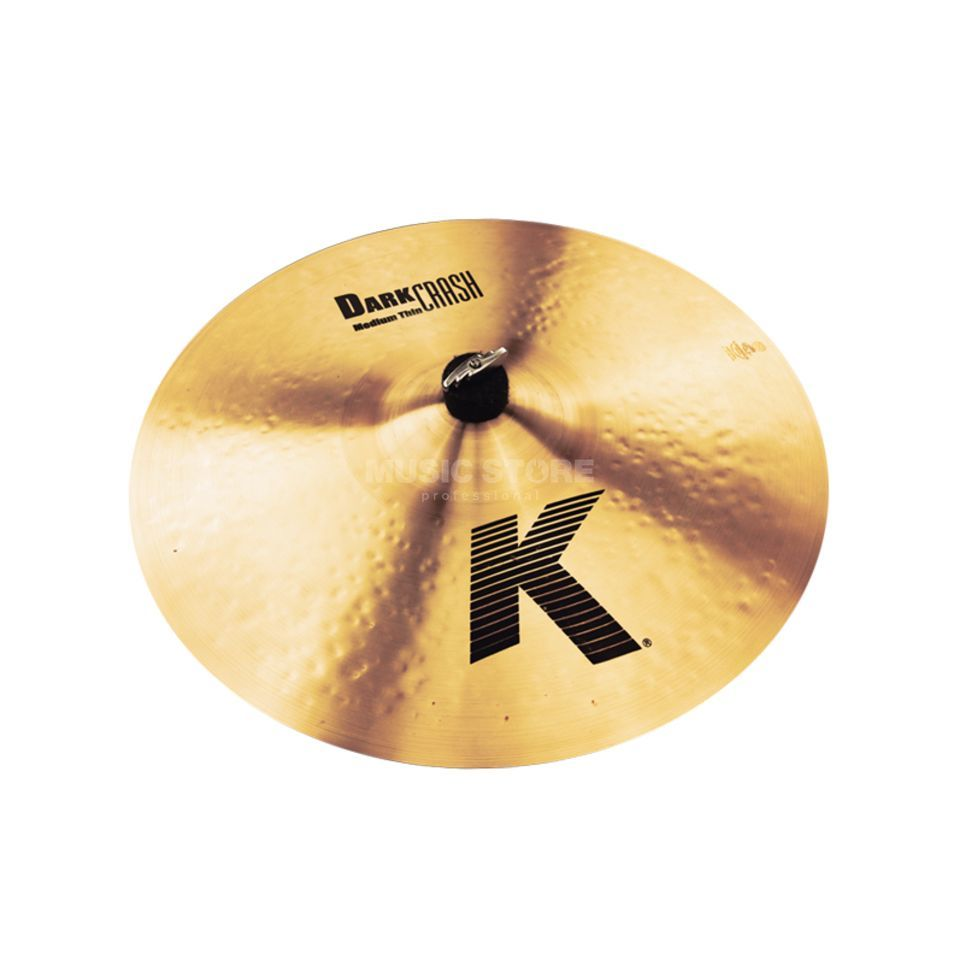 "Zildjian K' Dark Crash Medium Thin 17"", Traditional Finish Product Image"