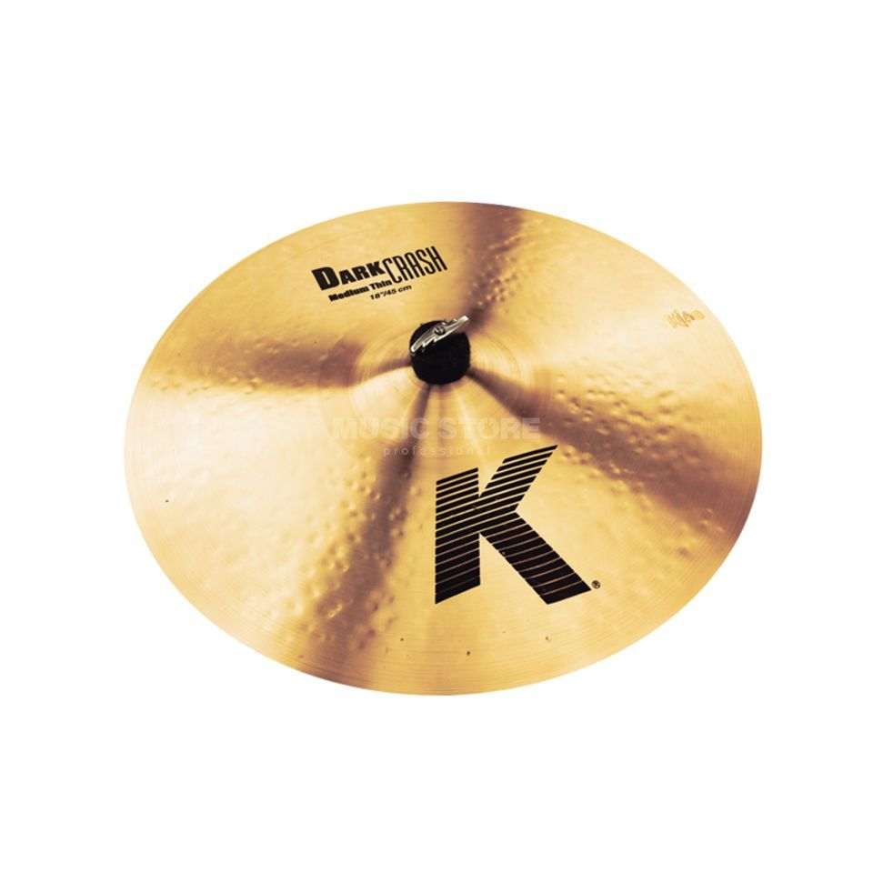 "Zildjian K' Dark Crash Medium Thin 18"", Traditional Finish Produktbillede"