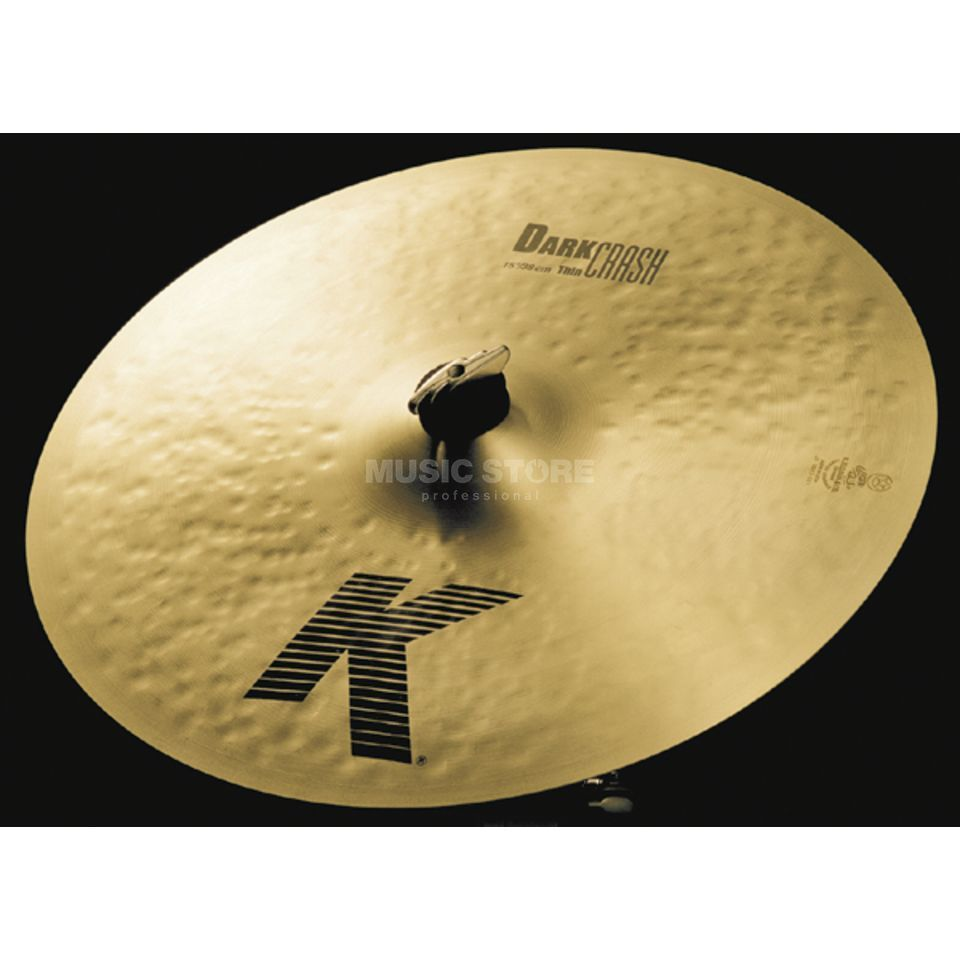 "Zildjian K' Dark Crash Thin 15"", Traditional Finish Produktbillede"