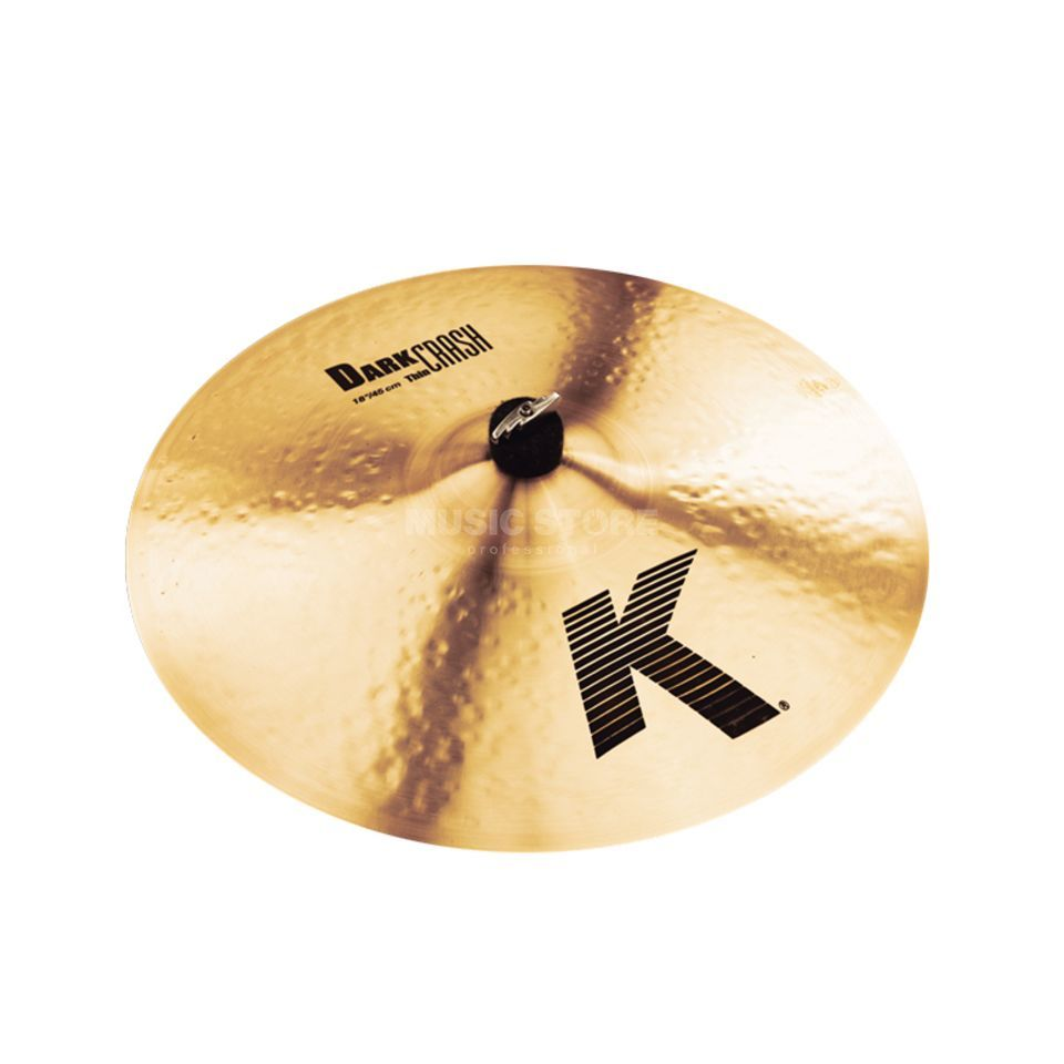 "Zildjian K' Dark Crash Thin 18"", Traditional Finish Produktbillede"
