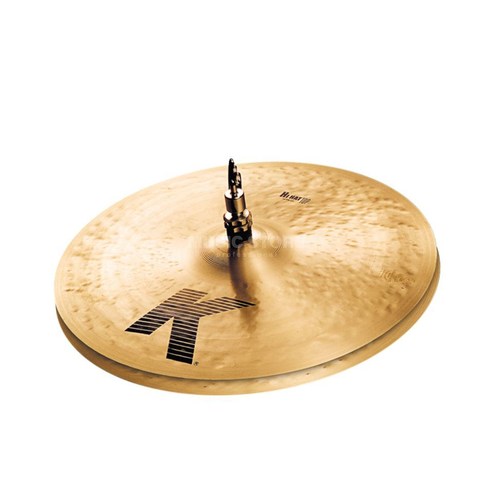 "Zildjian K' HiHat 14"", Traditional Finish Product Image"