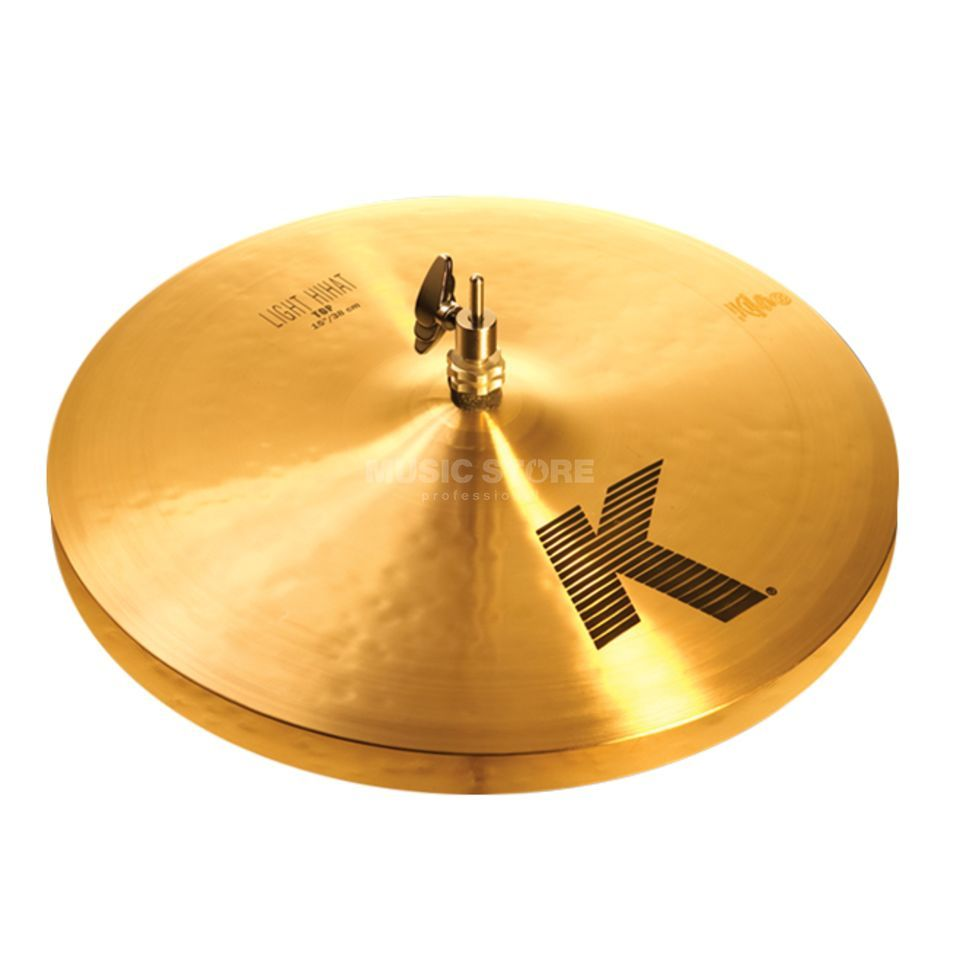 "Zildjian K' Light HiHat 15"", Traditional Finish Produktbillede"
