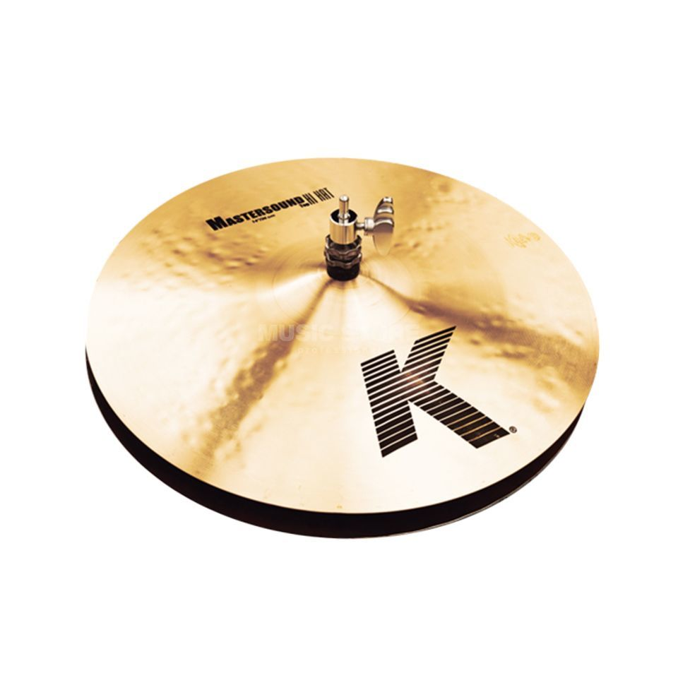 "Zildjian K' Mastersound HiHat 14"", Traditional Finish Produktbillede"