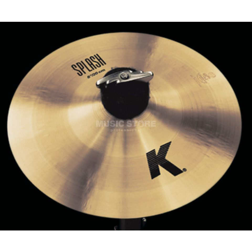 "Zildjian K' Splash 8"", Traditional Finish Productafbeelding"