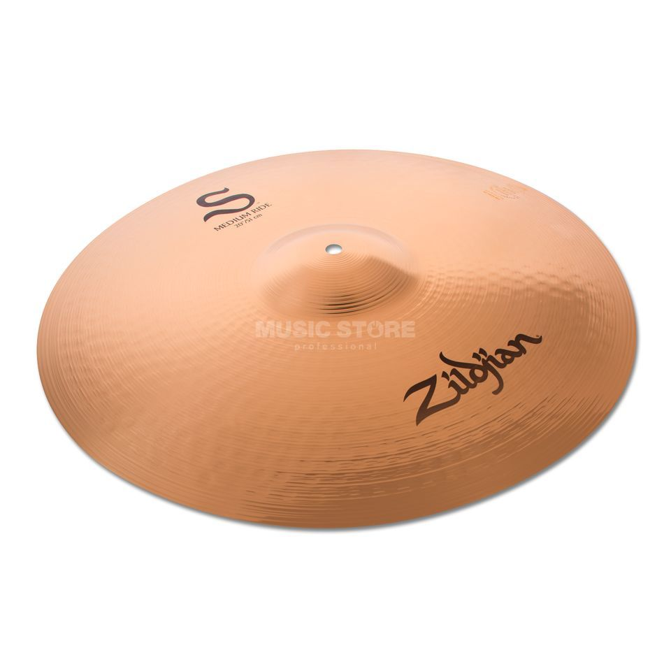 "Zildjian S-Series Medium Ride 20"" Brilliant Produktbillede"