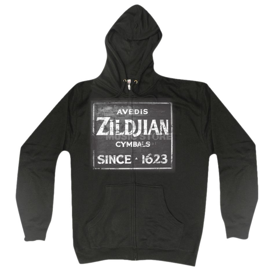 Zildjian Sweat-Kapuzenjacke Vintage Black, Medium Product Image