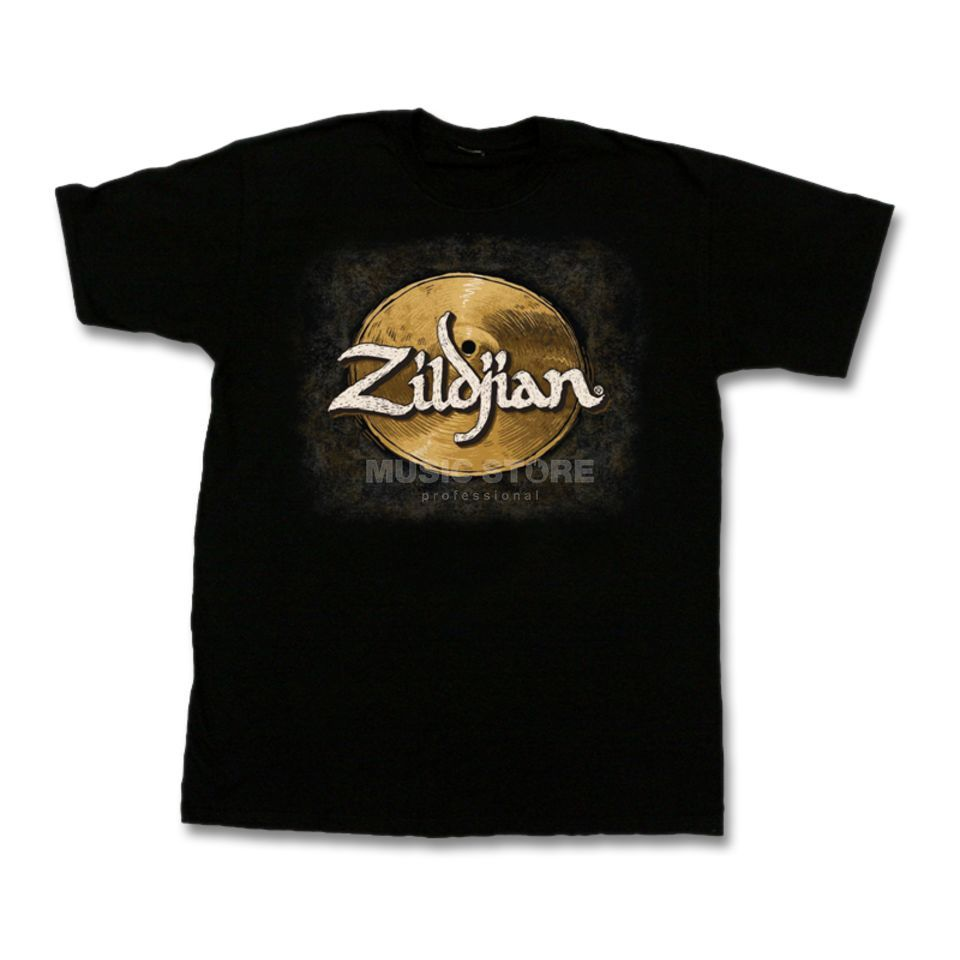 Zildjian T-Shirt Hand-Drawn Black, Medium Produktbillede