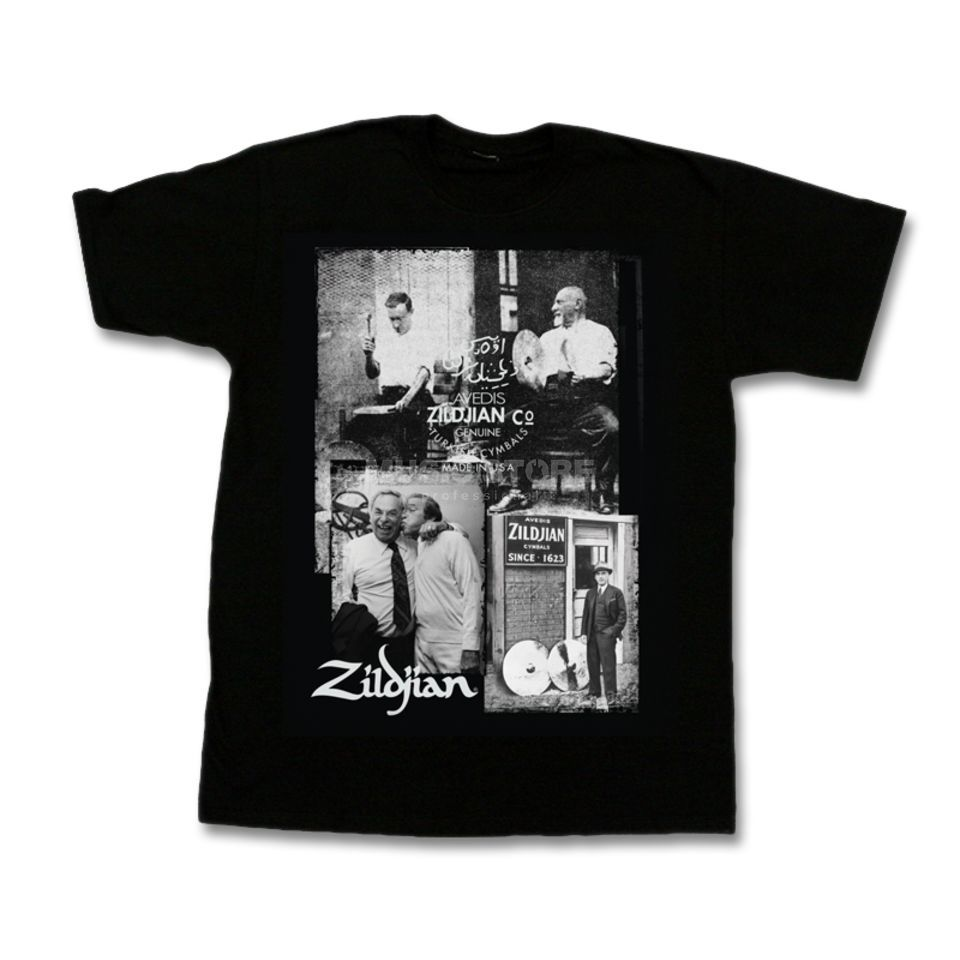 Zildjian T-Shirt Photo Real Medium Product Image