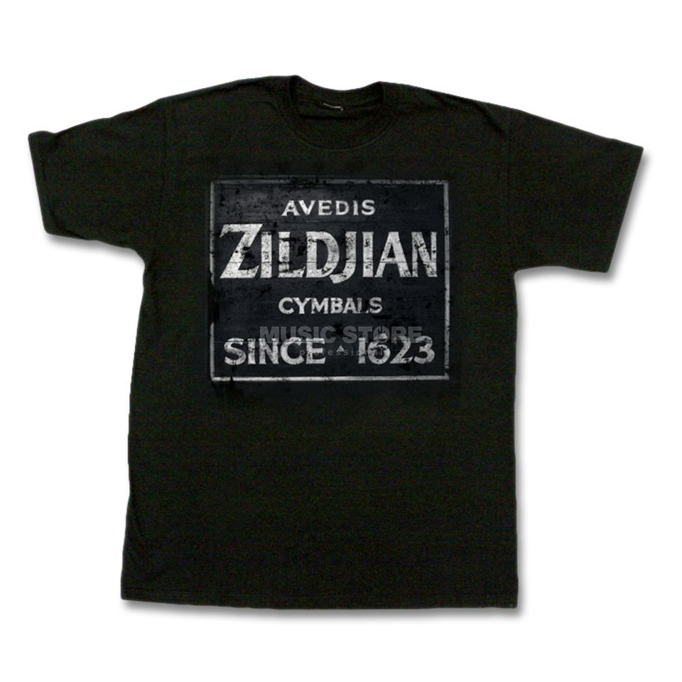 Zildjian T-Shirt Signature Black,  Large Product Image