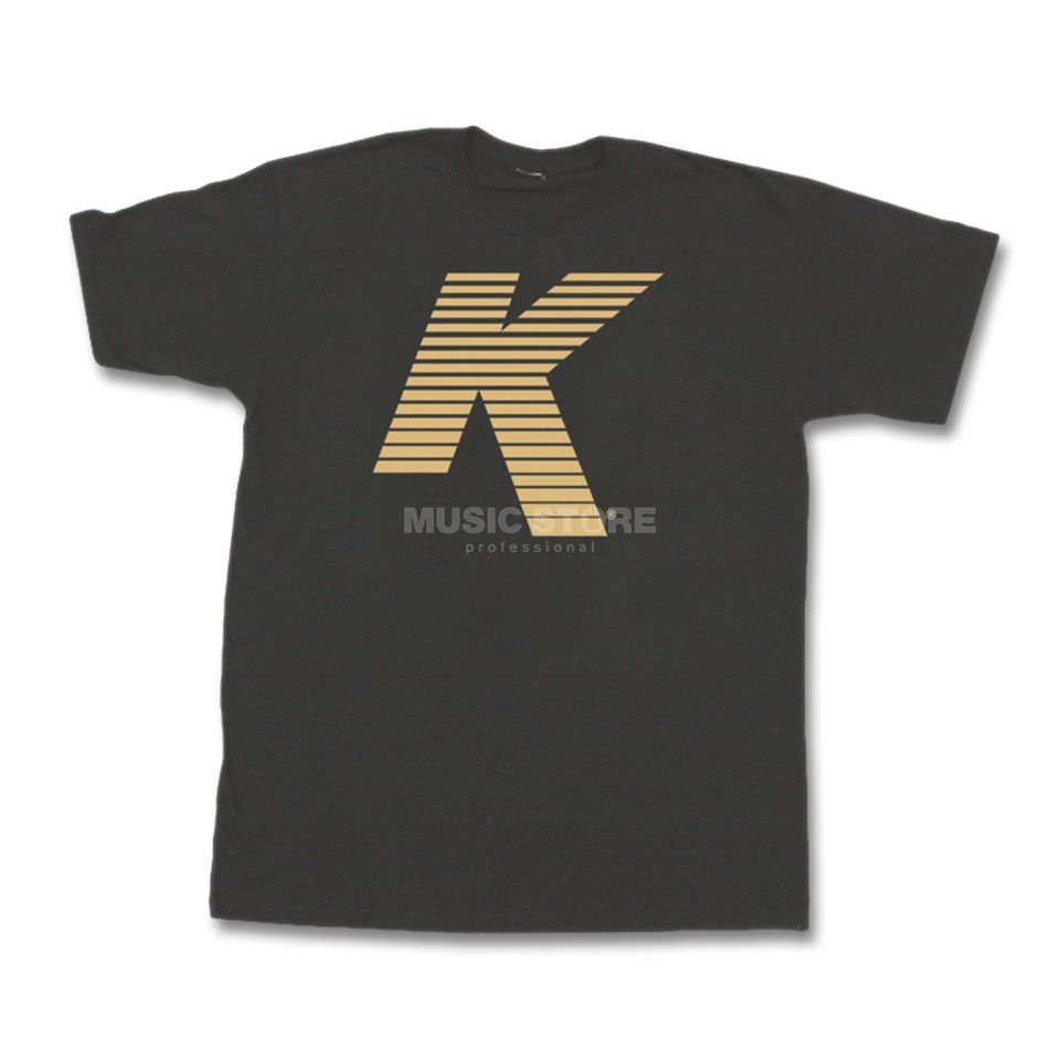 Zildjian T-Shirt Vented K Logo Black, Medium Produktbillede