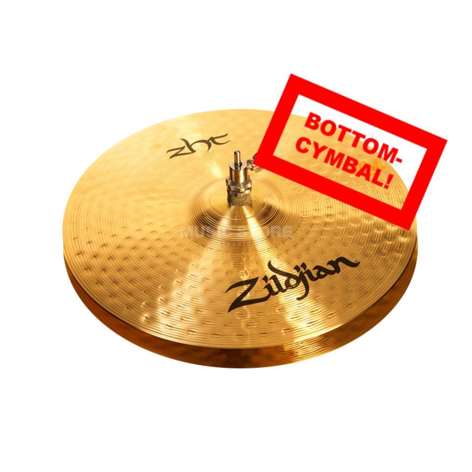 "Zildjian ZHT HiHat 14"", Bottom, Heavy Traditional Finish Produktbild"