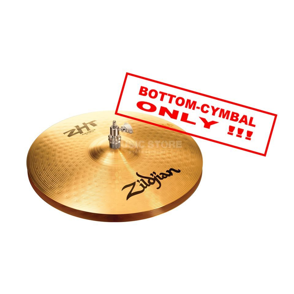 "Zildjian ZHT HiHat 14"",Rock, Bottom, Traditional Finish Produktbild"