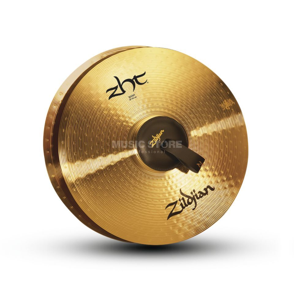 "Zildjian ZHT Marching Cymbals 18"", Traditional Finish Produktbild"