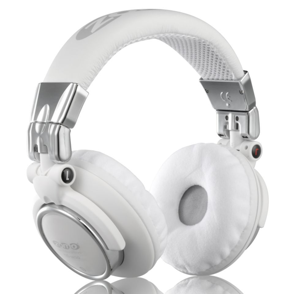 Zomo HD-1200 White Crome Stereo Headphones Product Image