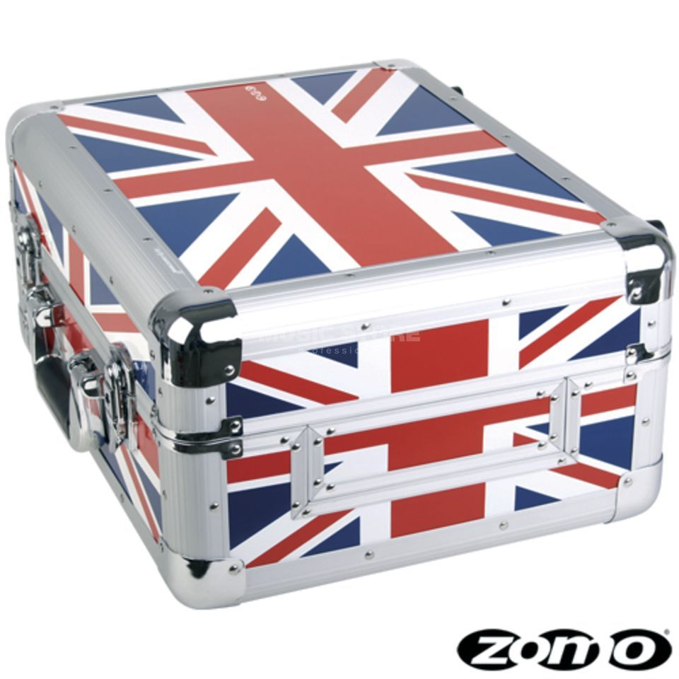 "Zomo universele Case CDJ-1 UK Flag voor CD-Spieler / 12"" mixer Productafbeelding"